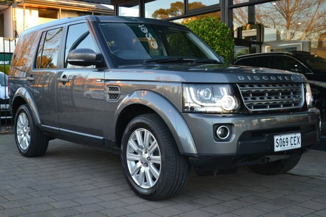 Used Land Rover Discovery Series 4 L319 MY16 TDV6, 2015 Land Rover Discovery Series 4 L319 MY16 TDV6 Grey 8 Speed Sports Automatic Wagon