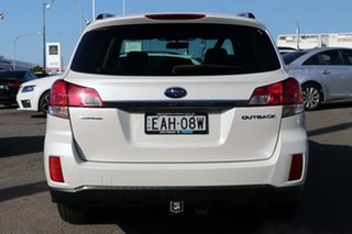 2011 Subaru Outback B5A MY11 2.5i Lineartronic AWD Premium White 6 Speed Constant Variable Wagon