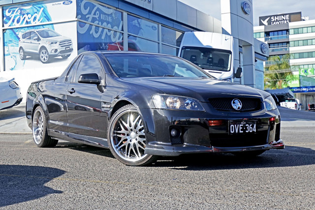 Used Holden Ute VE SS V, 2008 Holden Ute VE SS V Black 6 Speed Sports Automatic Utility