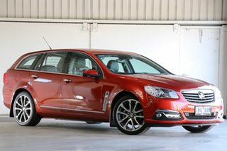 2016 Holden Calais VF II MY16 V Sportwagon Red 6 Speed Sports Automatic Wagon.