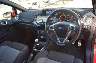 2014 Ford Fiesta WZ ST Orange 6 Speed Manual Hatchback