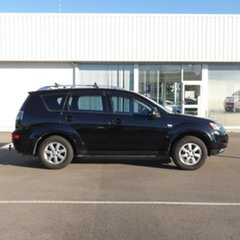 2007 Mitsubishi Outlander ZG MY07 LS Black 6 Speed Constant Variable Wagon