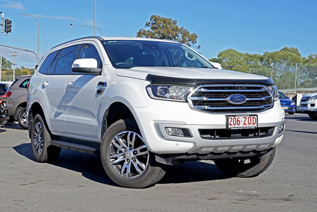 Used Ford Everest UA II 2020.25MY Trend 4WD, 2020 Ford Everest UA II 2020.25MY Trend 4WD Arctic White 6 Speed Sports Automatic Wagon
