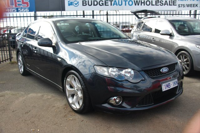Used Ford Falcon FG XR6 Limited Edition, 2011 Ford Falcon FG XR6 Limited Edition Grey 6 Speed Sports Automatic Sedan
