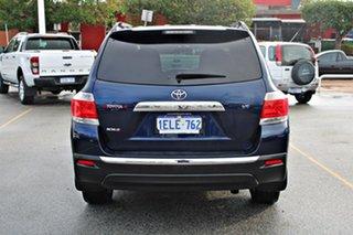 2012 Toyota Kluger GSU40R MY12 KX-S 2WD Blue 5 Speed Sports Automatic Wagon