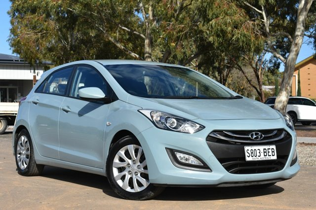 Used Hyundai i30 GD Active, 2013 Hyundai i30 GD Active Sky Blue 6 Speed Sports Automatic Hatchback