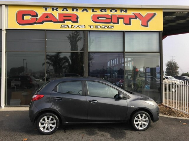 Used Mazda 2 DE MY13 Maxx, 2013 Mazda 2 DE MY13 Maxx Grey 5 Speed Manual Hatchback