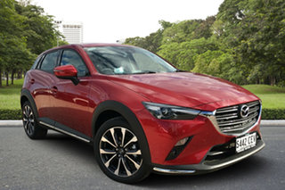 2020 Mazda CX-3 DK2W7A sTouring SKYACTIV-Drive FWD Soul Red 6 Speed Sports Automatic Wagon.