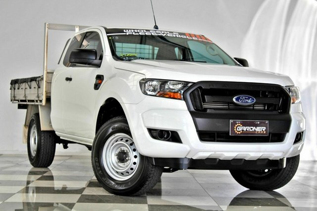 Used Ford Ranger PX MkII XL 2.2 Hi-Rider (4x2), 2016 Ford Ranger PX MkII XL 2.2 Hi-Rider (4x2) White 6 Speed Automatic Super Cab Chassis