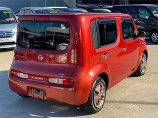 2014 Nissan Cube Orange.