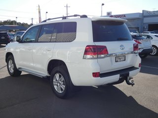 2017 Toyota Landcruiser VDJ200R GXL White 6 Speed Sports Automatic Wagon