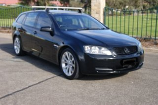 2009 Holden Commodore VE MY09.5 Omega Black 4 Speed Automatic Sportswagon.