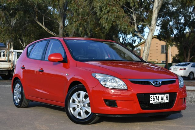 Used Hyundai i30 FD SX, 2008 Hyundai i30 FD SX Red 5 Speed Manual Hatchback
