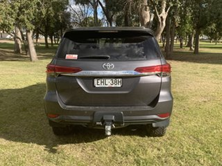 2016 Toyota Fortuner GUN156R GXL Magnetic Grey 6 Speed Automatic Wagon