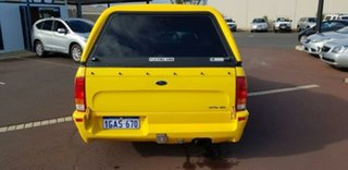 2005 Ford Falcon BF XR6 Ute Super Cab Yellow 4 Speed Sports Automatic Utility