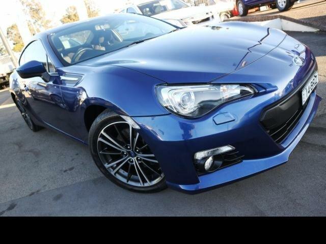 Used Subaru BRZ MY13 , 2013 Subaru BRZ MY13 Blue 6 Speed Manual Coupe