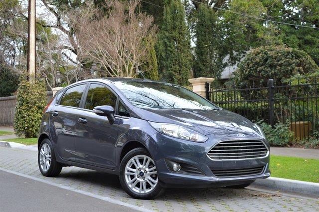 Used Ford Fiesta WZ MY15 Trend PwrShift, 2015 Ford Fiesta WZ MY15 Trend PwrShift Grey 6 Speed Sports Automatic Dual Clutch Hatchback