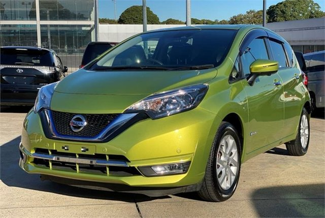 Used Nissan Note Silverwater, 2017 Nissan Note Green