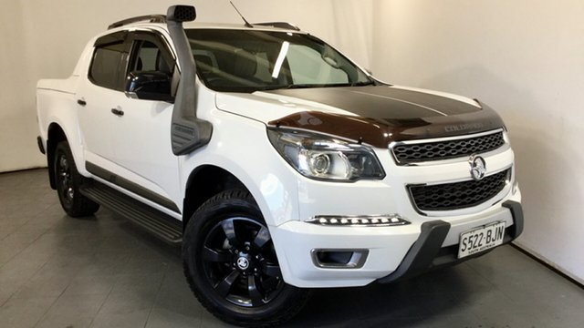 Used Holden Colorado RG MY15 LTZ Crew Cab, 2015 Holden Colorado RG MY15 LTZ Crew Cab White 6 Speed Sports Automatic Utility
