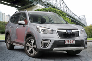 2019 Subaru Forester S5 MY20 2.5i-S CVT AWD Ice Silver 7 Speed Constant Variable Wagon.