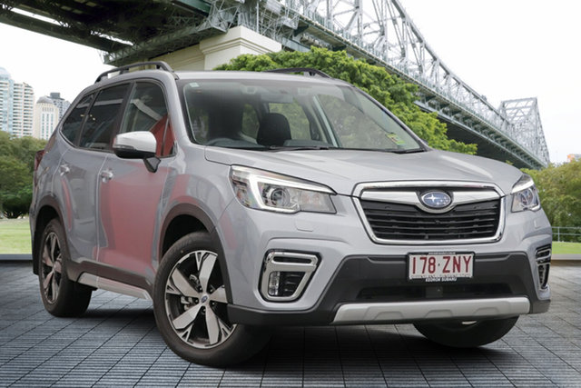 Demo Subaru Forester S5 MY20 2.5i-S CVT AWD, 2019 Subaru Forester S5 MY20 2.5i-S CVT AWD Ice Silver 7 Speed Wagon