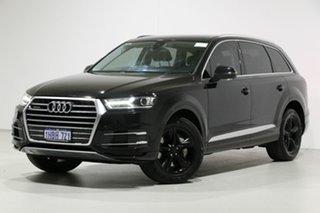 2016 Audi Q7 4M MY17 3.0 TDI Quattro (160kW) Black 8 Speed Automatic Tiptronic Wagon.