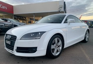 2010 Audi TT White Manual Coupe.