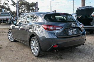 2015 Mazda 3 BM5438 SP25 SKYACTIV-Drive Astina Silver 6 Speed Sports Automatic Hatchback.