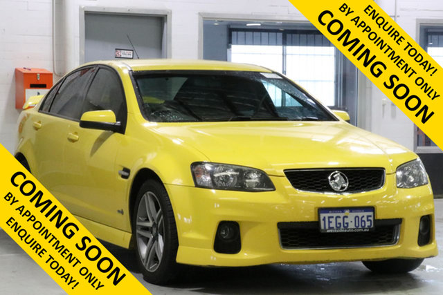 Used Holden Commodore VE II MY12 SV6, 2012 Holden Commodore VE II MY12 SV6 Yellow 6 Speed Automatic Sedan