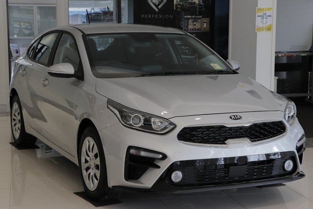 Demo Kia Cerato BD MY20 S Toowoomba, 2019 Kia Cerato BD MY20 S Silky Silver 6 Speed Sports Automatic Hatchback