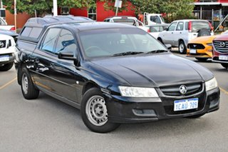 2005 Holden Crewman VZ Black 4 Speed Automatic Utility.