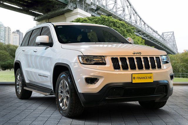 Used Jeep Grand Cherokee WK MY15 Laredo 4x2, 2015 Jeep Grand Cherokee WK MY15 Laredo 4x2 White 8 Speed Sports Automatic Wagon