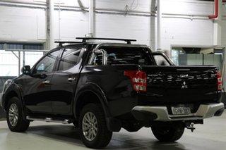 2015 Mitsubishi Triton MQ MY16 GLS (4x4) Black 6 Speed Manual Dual Cab Utility