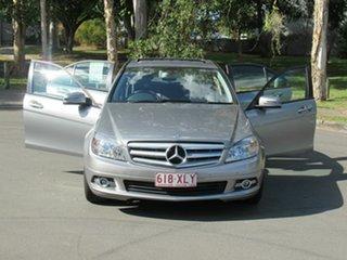 2010 Mercedes-Benz C200 CGI W204 MY10 Classic Silver 5 Speed Sports Automatic Sedan