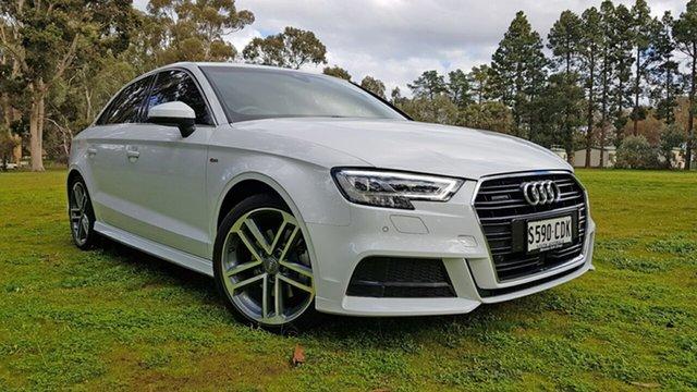 Used Audi A3 8V MY18 S Line S Tronic Quattro, 2018 Audi A3 8V MY18 S Line S Tronic Quattro White 7 Speed Sports Automatic Dual Clutch Sedan