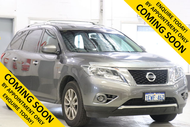 Demo Nissan Pathfinder R52 MY15 ST (4x2), 2015 Nissan Pathfinder R52 MY15 ST (4x2) Grey Continuous Variable Wagon