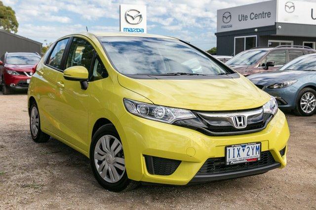Used Honda Jazz GF MY17 VTi, 2016 Honda Jazz GF MY17 VTi Attract Yellow 1 Speed Hatchback