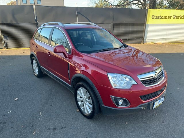 Used Holden Captiva CG MY16 LS 2WD, 2015 Holden Captiva CG MY16 LS 2WD Red 6 Speed Manual Wagon