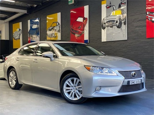 Used Lexus ES GSV60R ES350 Luxury, 2013 Lexus ES GSV60R ES350 Luxury Silver Sports Automatic Sedan