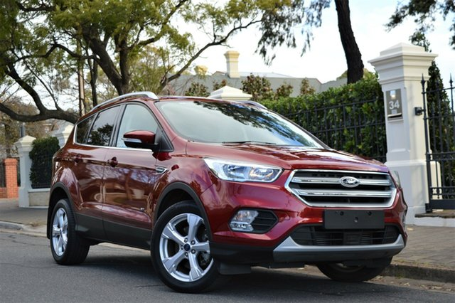 Used Ford Escape ZG 2018.00MY Trend AWD, 2018 Ford Escape ZG 2018.00MY Trend AWD Burgundy 6 Speed Sports Automatic Wagon