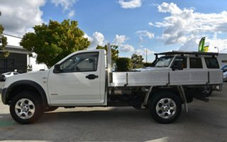 2007 Holden Rodeo RA MY06 Upgrade LX (4x4) White 5 Speed Manual Cab Chassis