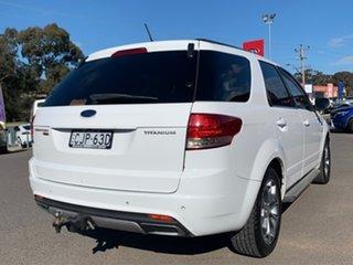 2012 Ford Territory Titanium White Sports Automatic Wagon