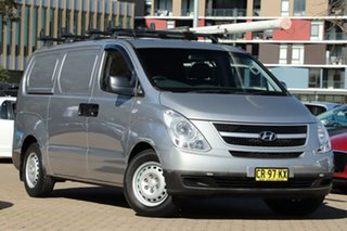 2014 Hyundai iLOAD TQ MY15 Silver 5 Speed Automatic Van.