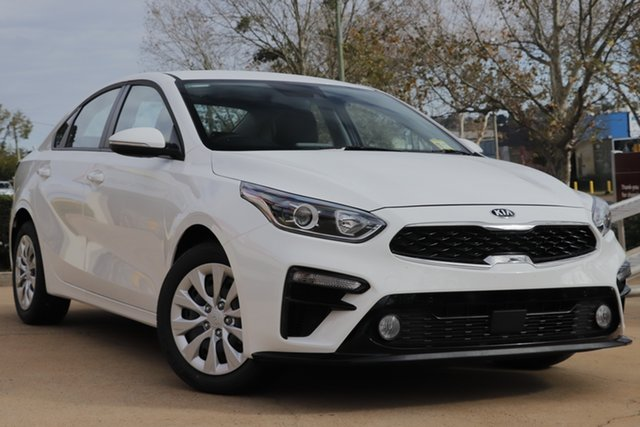 Demo Kia Cerato BD MY20 S, 2019 Kia Cerato BD MY20 S Clear White 6 Speed Sports Automatic Sedan