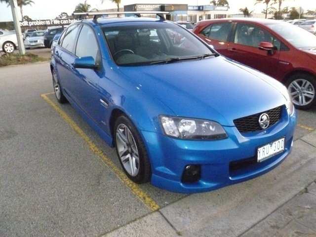 Used Holden Commodore VE MY10 SV6, 2010 Holden Commodore VE MY10 SV6 Blue 6 Speed Sports Automatic Sedan