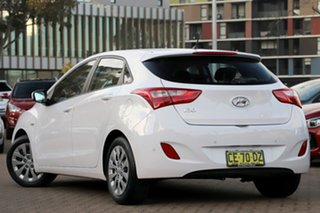 2015 Hyundai i30 GD4 Series 2 Active White 6 Speed Automatic Hatchback.