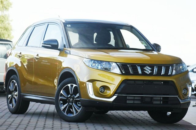 New Suzuki Vitara LY Series II Turbo 2WD, 2020 Suzuki Vitara LY Series II Turbo 2WD Yellow 6 Speed Sports Automatic Wagon