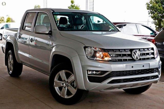 Demo Volkswagen Amarok 2H MY19 TDI550 4MOTION Perm Sportline, 2019 Volkswagen Amarok 2H MY19 TDI550 4MOTION Perm Sportline Silver 8 Speed Automatic Utility