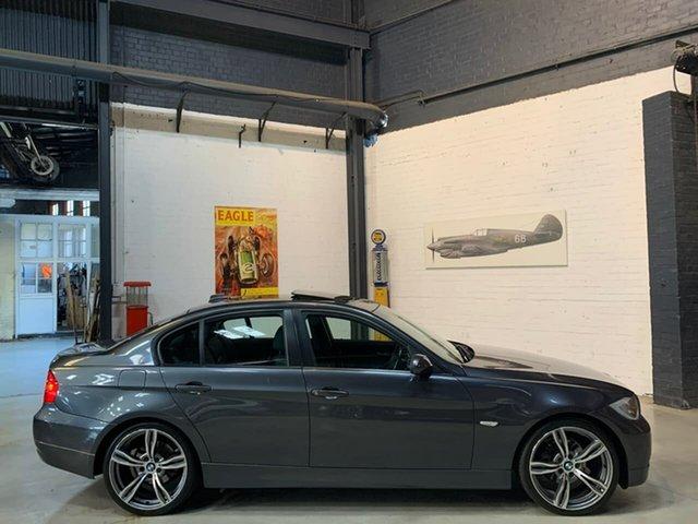 Used BMW 3 Series E90 MY08 320i Steptronic Executive, 2007 BMW 3 Series E90 MY08 320i Steptronic Executive Grey 6 Speed Sports Automatic Sedan