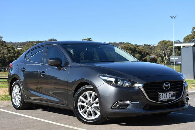 Used Mazda 3 BN5276 Maxx SKYACTIV-MT Sport, 2018 Mazda 3 BN5276 Maxx SKYACTIV-MT Sport Grey 6 Speed Manual Sedan